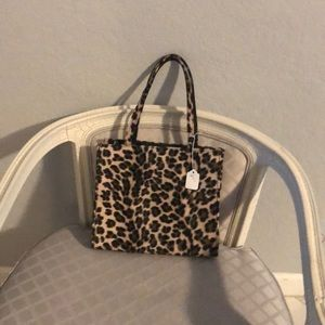 Vintage leopard purse perfect condition
